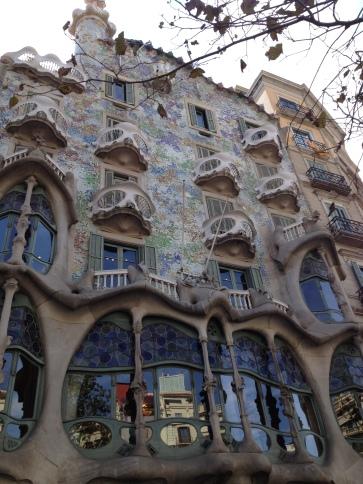 Casa Battlo in Barcelona, Spain