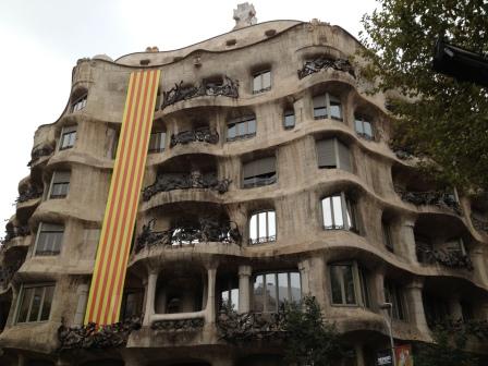 Casa Milla in Barcelona, Spain