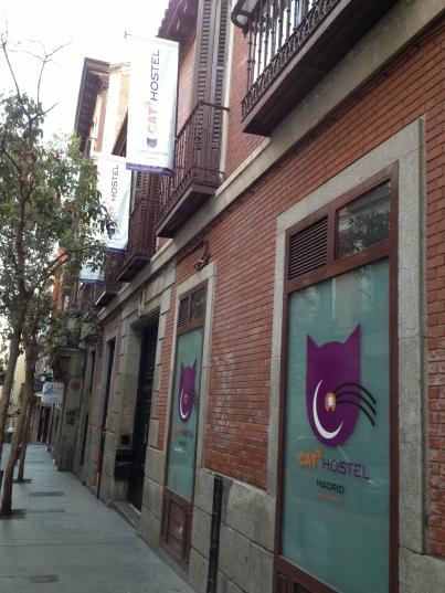 Cat's Hostel in Madrid, Spain
